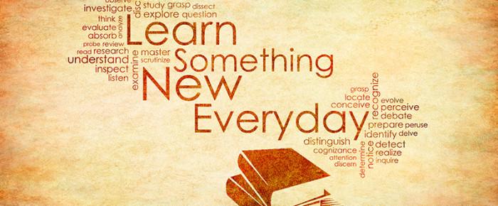 Learning Something New Everyday